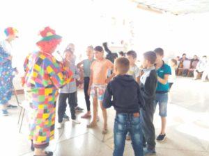 День защиты детей Ударновская б/ф
