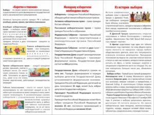 Молодым гражданам России об избирательных правах